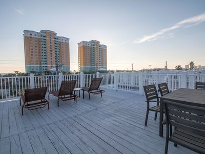 Photo for 3BR 3.5BA Multi family beach house across from beachside park w/ private pool!