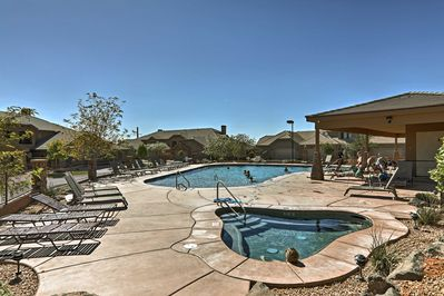 Situated in Coral Ridge, this home offers access to community pools.