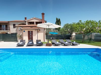 Photo for Modern Holiday House With Private Pool And Enclosed Garden