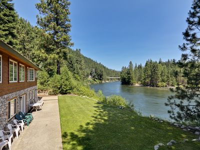 Photo for Alpine Pension ~ Your Secluded Family Getaway, Riverfront, Hot tub
