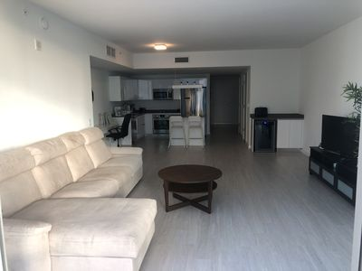 Photo for BRICKELL BAY 2 bedroom / 37th floor / ocean and street / SPA & GYM FREE