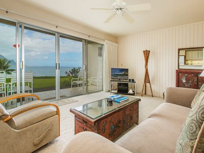 Photo for Lovely one bedroom condo on the north shore with magnificent ocean views