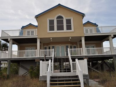 Photo for Beachfront!!! 5 Bedrooms on Beautiful St. George Island, Florida