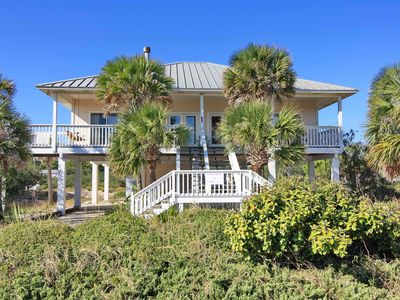 "Photo for Ready Now- No Storm Issues! FREE BEACH GEAR! Pets OK, Beach View, Fireplace, Wi-Fi, 3BR/3BA ""Gulf Galaxy"""