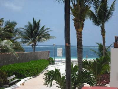 Photo for Beach Condos (4 Units) - 8 bedroom, in-town, steps to the beach.