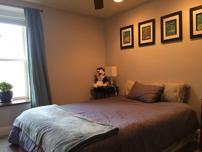 Photo for Quiet Private Bedroom and Private Bath Near Public Transportation to Boston