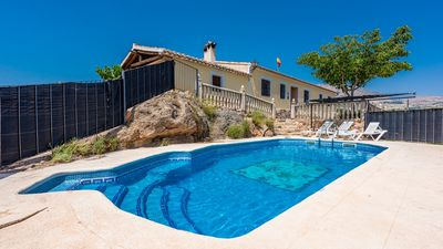 Photo for Holiday villa for groups with 15-ball pool, in eastern Andalucia