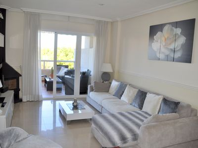 Photo for APARTMENT with pool, jacuzzi, Turkish bath, together golf course