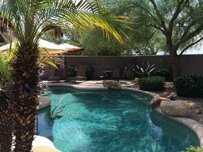 Private Pool with Dining for 4 and Chaise Lounges (Pool Not Heated)