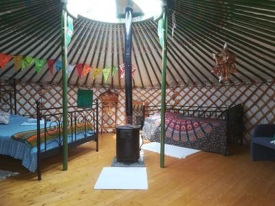 Photo for Pomegranate, Traditional Mongolian Yurt in Valencia Province