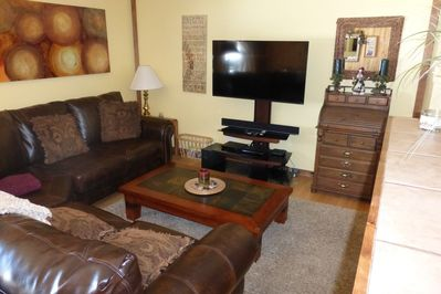 Cozy family room to talk or watch TV.