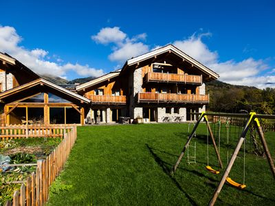 Photo for Cottage with indoor pool-sauna ideal for skiing, cycling, hiking, quiet in Séez
