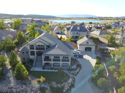 Photo for 7800 SF Mansion! 7 BR 6 1/2 Bath! Theater, Gym & Game Room. Outrageous Views!