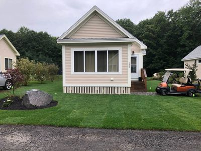 Photo for Quiet Cottage On Dead End Street - Comes With Golf Cart!