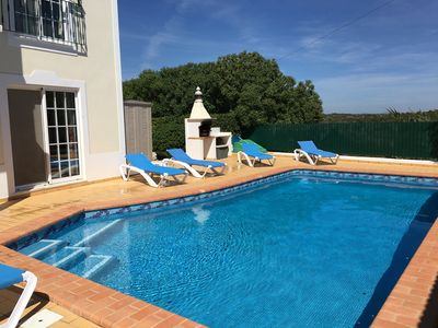 Photo for An Impressive Villa With Private Pool, Air Con, Extensive Gardens + Free WiFi