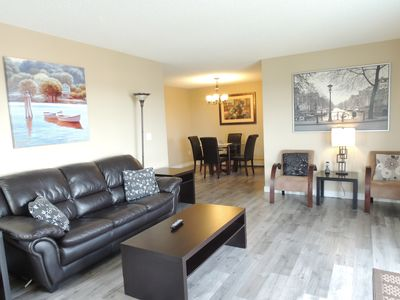 Photo for Beautiful 2BR/2Bath Corner Unit Between Airport & Downtown