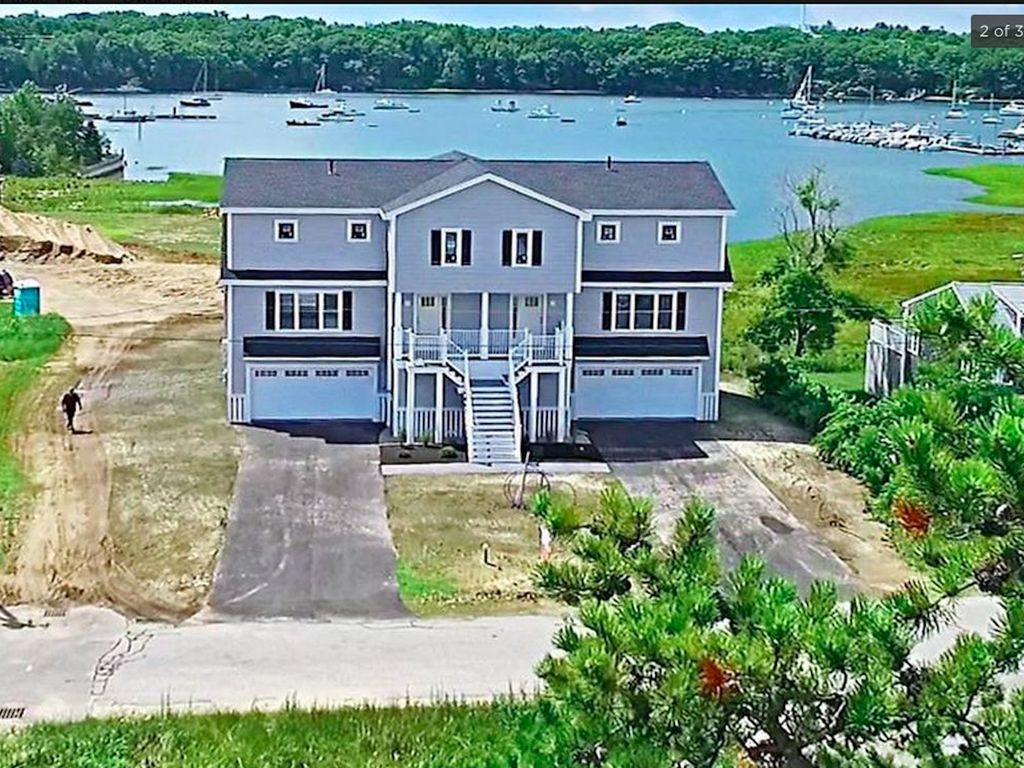 Beautiful New Home In Camp Ellis   Spectacular Water Views And Beach Access Design Ideas
