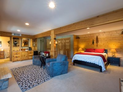 Photo for All Seasons River Inn Suite A, Riverfront studio 1.5 miles to Leavenworth