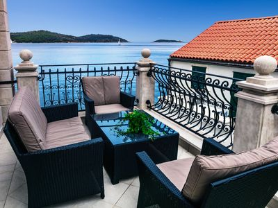 Photo for Apartment 208 m from the center of Vis with Internet, Air conditioning, Terrace, Washing machine (992826)