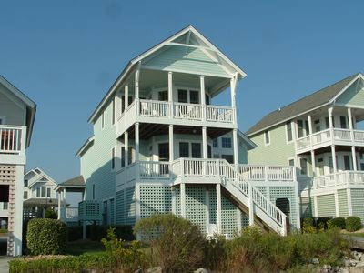 Welcome toThe Pink Pelican, your private waterfront vacation home away from home