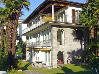 Photo for Apartment in Gambarogno with Internet, Pool, Parking, Garden (133913)