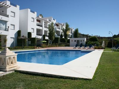 Photo for Open Roof-Terraced apartment with stunning 360 mountain and sea view