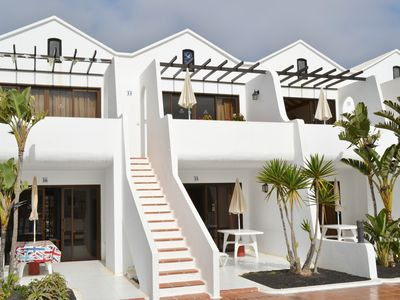 Photo for Sun Blessed South Facing First Floor Apartment in Costa Teguise Lanzarote