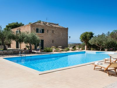 Photo for Exclusive villa with private pool located a few kilometers from lovely Trapani