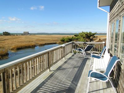 Photo for Waterfront Panoramic Views of Bay, Marsh, Sunset & Audubon Sanctuary