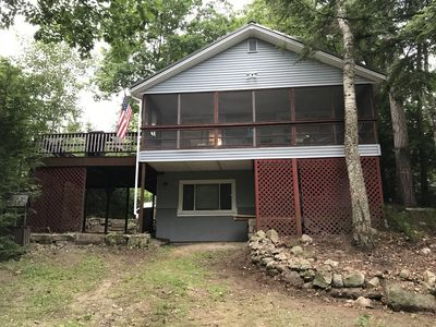 Photo for UPDATED LAKE HOUSE WALKING DISTANCE TO BEACH NEWFOUND LAKE