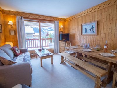 Photo for Charming and confort 3 bedrooms in Meribel Village !