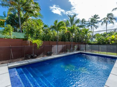Photo for LANIKAI PRIVATE 4 Bedroom 4 Bath OCEANFRONT HOME AIR CON & POOL