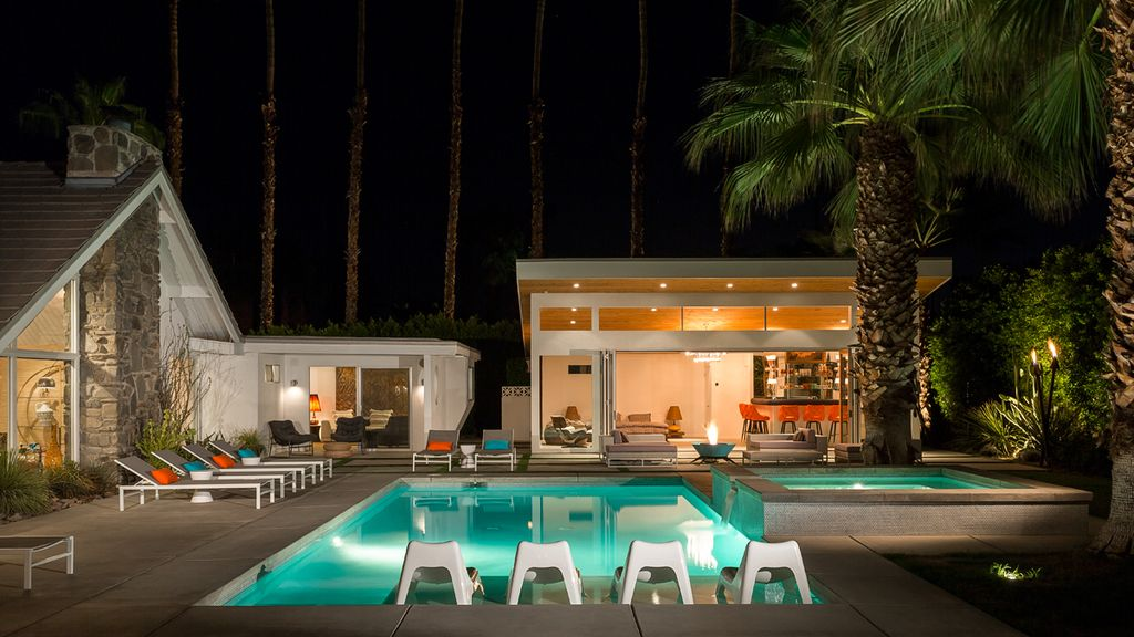 Your MidCentury Oasis In Palm Springs Awaits VRBO - A mid century desert oasis in palm springs