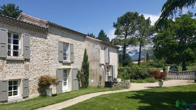 Photo for Welcome to our Gîte 5 people, with swimming pool, quiet, Drôme countryside