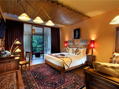 Photo for JUNGLE RETREAT UBUD 1deluxe suite & 2 guest+breakfast