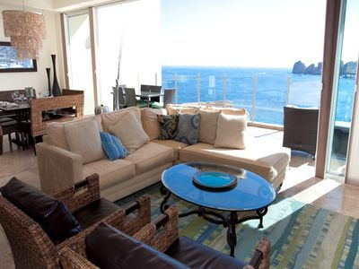 Photo for Luxury PENTHOUSE suite, with private rooftop deck on the best beach in Cabo!