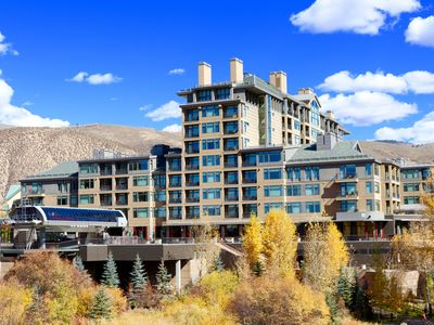 Riverfront Resort Platinum Studio,Ski in/out, Ski/Boot Valet,Fireplace,6th floor