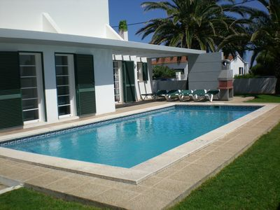 Photo for Modern Villa, Sleeps 6, (Plus a cot bed) With Private Pool & Surrounding Gardens