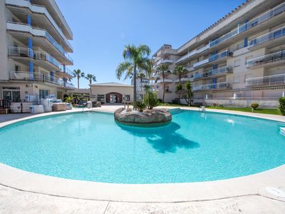 Photo for APARTMENT IN RESIDENTIAL COMPLEX WITH POOL