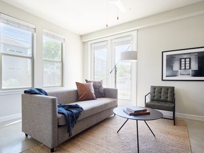 Photo for Sonder | Southtown Apartments | Bold 2BR + Pool