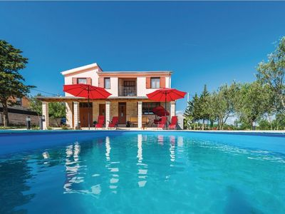 Photo for Great Villa Rossa with pool, Zadar county