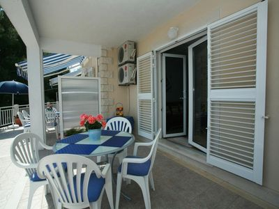 Photo for Apartment Rajna  Crveni(2+2)  - Sumartin, Island Brac, Croatia