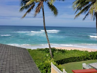 Photo for Oceanfront Home at Sunset Beach