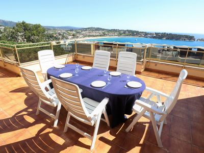 Photo for BRISES I Apartment 6 pax with pool / sea view C27129