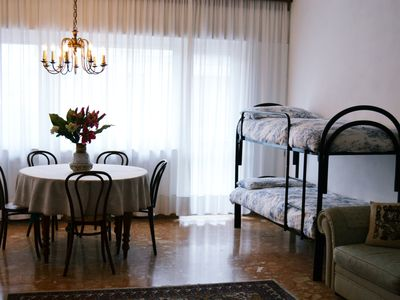 Photo for The apartment is 5 minutes walk from the station of Mestre ferrroviaria