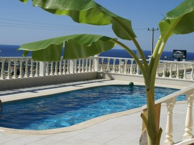 Photo for Villa with stunning sea views and private pool.