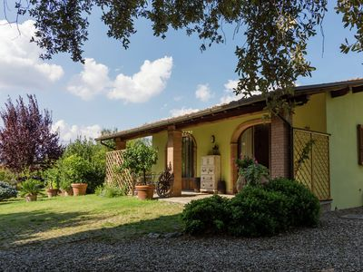 Photo for Detached house in the hills of Arezzo, surrounded by olive trees