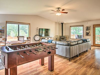 Photo for Luxe South Lake Tahoe Home w/ Game Room+Coffee Bar