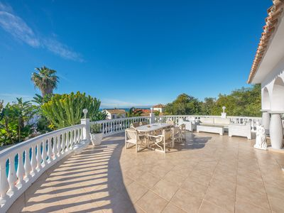 Photo for Luxury six bedroom Villa in Marbella with private pool (CLAV)