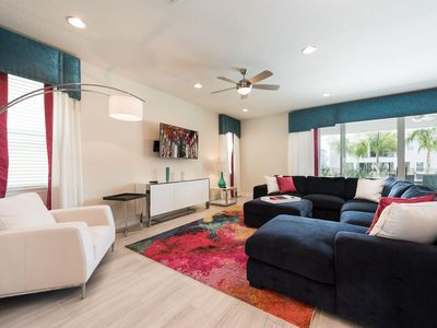 Photo for Colorful Home at Encore! Water Park Included, Shuttles to Parks, near Disney